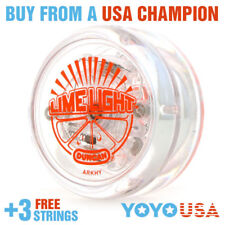 Duncan Limelight LED Light Up Yo-Yo YoYo Lime Light - Orange + STRINGS