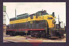 LMH Postcard BAY LINE Atlanta Saint Andrews BAYL GP7M 501 Shortline Torpedo Tube