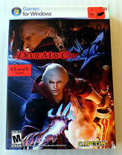 Devil May Cry 4 ~ NEW SEALED ~ Windows PC Computer Video Game ~ RARE Capcom