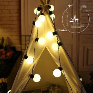 5 M 20 LED Large Ball String Lights Outdoor Garden Lamp Christmas Festive Decor