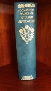 Complete Works of William Shakespeare c1933 in excellent condition.