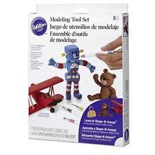Wilton 3D Modeling Tool Set Cake Decorating Fondant Gum Paste Decorations Tools