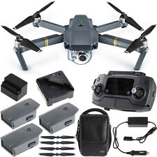 DJI Mavic Pro Quadcopter Drone Combo Pack with 4K Camera  4 Battery Bundle