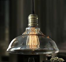 NTS Retro Deckenlampe Glasschirm Hängeleuchten Vintage Industrie Rlc005