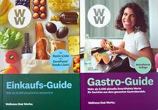 Weight Watchers Einkaufs-guide Gastro Guide 2019 *mit Zeropoint Foods*