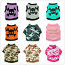 Teacup Dog Clothes Pet Puppy Vest Cat Tee Shirt for yorkie maltese Chihuahua Dog