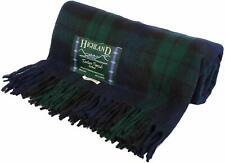 Blackwatch Tartan KNEE RUG-Tweeds of Scotland, Wool Blend, Picnic Blanket, RRP19