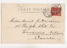 Miss Annie Davidson John White Co Woodstock Ontario Canada 1908 316b
