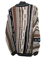Vintage Carlo Alberto Sweater 90s Biggie Cosby Hip Hop Coogi Style Australia L