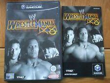WWE WRESTLEMANIA X8 NINTENDO GAMECUBE GAME WITH INSTRUCTIONS UK PAL