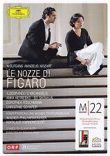 WOLFGANG AMADEUS MOZART - 2 DVD - LE NOZZE DI FIGARO