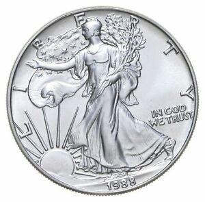 1992 American Silver Eagle NGC MS69 Silver Dollar $1 Gem BU .999 Silver Bullion