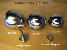 3 x Optimum Penis Enlarger Extender WEIGHTS Complete ADS PE Set / Kit - All Day