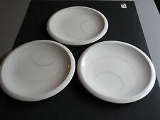 """JACK LENOR LARSEN  Porcelain Lunch / Salad Plates 8""""½  MIKASA CL907 Off Center"""