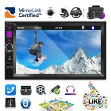 7 Inch 2DIN Car Stereo Radio HD MP5 FM Player Touch Screen Mirror Link In-Dash