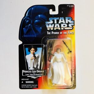PRINCESS LEIA ORGANA Star Wars Power Of The Force 2 POTF2 Red Orig. Belt .00 MOC