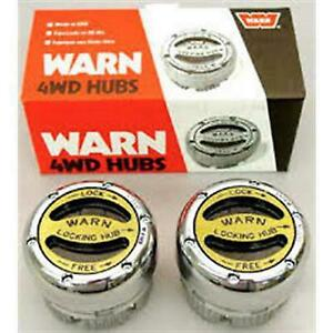 Warn Premium Manual Locking Hubs 20990