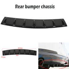 "Carbon fiber Universal Shark Fin 7 Wing Lip Diffuser 33"" x6"" Rear Bumper Chassis"