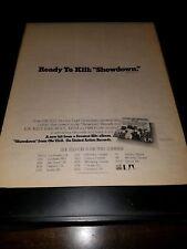 Elo Olé Showdown Rare Original Tour Promo Poster Ad Framed!