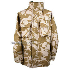 Genuine British Army Desert Camo Gortex Jacket Size 170/104 Large Short