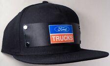 Hat Cap Front Nylon Strap Ford Trucks Black FTT
