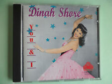 DINAH SHORE CD - YOU & I ( CDHD 231 )