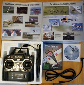 Real flight 6 RC simulator Original Packaging