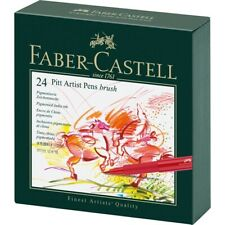 #167147 Faber Castell Caja De Regalo De 24 Cepillo de punta pitt artista plumas bosquejo de tinta de la India