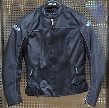 Joe Rocket Ladies Velocity Mesh Motorcycle Riding Jacket Black Size XLARGE