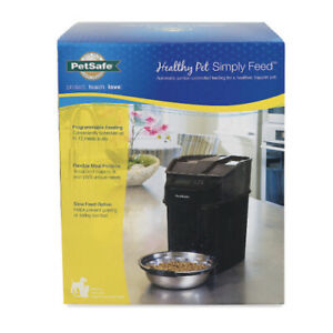 NEW PetSafe Healthy Pet Simply Feed 12-Meal Automatic Dog Cat Feeder