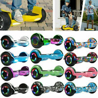 "6.5"" Bluetooth Electric Hoverboard Self Balancing LED Scooter Free Bag UL 2Wheel"