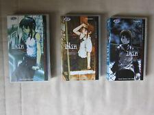 3 cassettes vidéo VHS - Lain - Serial Experiments _N°1 / 2 / 3 _ VOSTF