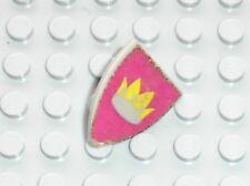 Bouclier LEGO castle Minifig OldGray Shield 3846 + Sticker / set 375 6075 ...