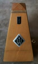 Vintage Wittner Key Wind Up Wood Maelzel Metronome Made in Germany