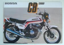 HONDA CB900F Motorcycle Sales Brochure 1982 #2C0112