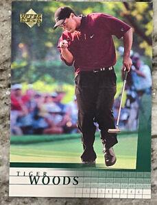 Tiger Woods 2001 Upper Deck Rookie Card
