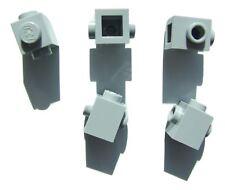 5 x Lego grey brick (size 1x1) with 2 knobs - 4213567 (Parts & Pieces)