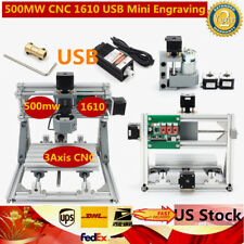 3-Axis USB DIY CNC 1610 Router Kit Wood Engraving Carving PCB Milling Machine US