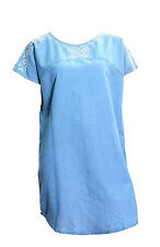 Stunning NEW  Ex peacocks denim chambrey tunic dress