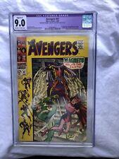 Avengers #47 CGC 9.0 1st Appearance Dane Whitman (Black Knight) C1 Slight Resto