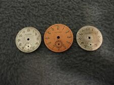 VINTAGE LOT-3 EARLY CITIZEN WATCH DIALS (1930s-1950s)-DIALS ONLY-JEWELERS ESTATE