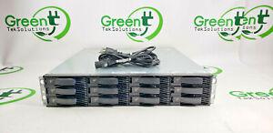 Read IBM 1727-HC1 39R6545 12-Bay Storage Array w/ 11x 1TB 42D0778 7.2K 6Gbs SAS