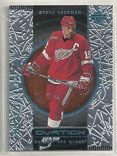 Steve Yzerman 1999-2000 Upper Deck Ovation Detroit Red Wings SP Hockey Card #87