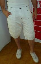 Tendance bermuda G-STAR RB Deck 5620 Loose blanc en TBE !! Taille 30