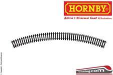 Hornby-lima 607 Binario 45° curvo Raggio 2 438 mm plastico ferroviario