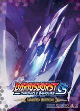 PS4 Darius Burst CS Chronicle Saviours Limited BOX set JAPAN NEW w/Tracking F/S