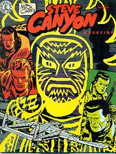 STEVE CANYON #7 by Milton Caniff (1984) Kitchen Sink Comics magazine FINE