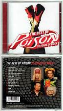"""POISON """"The Best Of - 20 Years Of Rock"""" (CD) 2006 NEUF"""