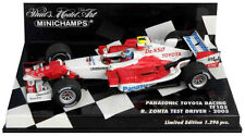 Minichamps Toyota TF105 2005-Ricardo Zonta Test Driver 2005 1/43 Escala