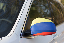 COLOMBIA CAR MIRROR FLAG COVERS 2018 WORLD CUP SHIPS FROM USA